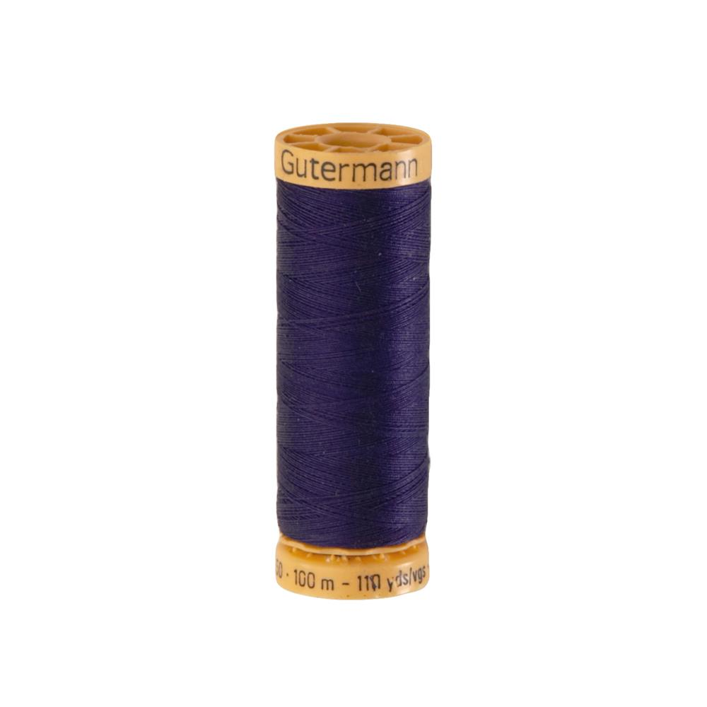 Gutermann Natural Cotton Thread 100m/109yds Midnight