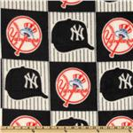 CW-804 MLB Fleece New York Yankees Blocks Blue/Red/White