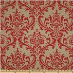 Premier Prints Traditions Adventurous Red/Denton