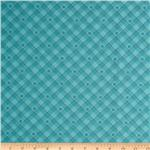 Moda Flirt Wavy Plaid Blue Bird