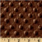 AL-643 Minky Cuddle Dimple Dot Caramel