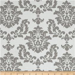Riley Blake Mystique Damask Grey