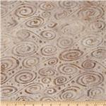 222715 Artisan Batik: Enchanted Swirl Parchment
