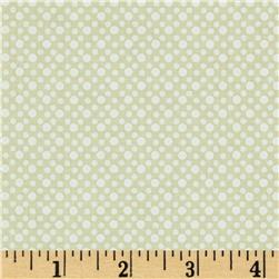 Michael Miller Dim Dots Cream