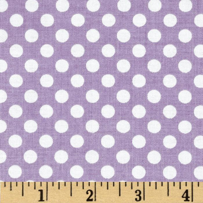 Riley Blake Dots Small Lavender