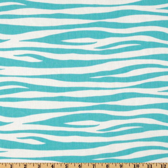 Premier Prints Twill Miami Girly Blue