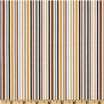 202597 Riley Blake Zoofari Organic Stripe Brown