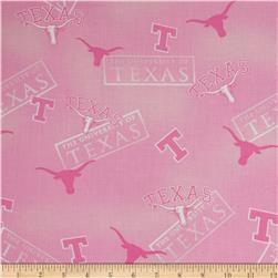 Collegiate Cotton Broadcloth Texas Pink