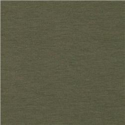 Laguna Stretch Cotton Jersey Knit Olive
