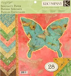 Susan Winget Nature 12''x12'' Specialty Double Sided Paper Pad 28 sheets