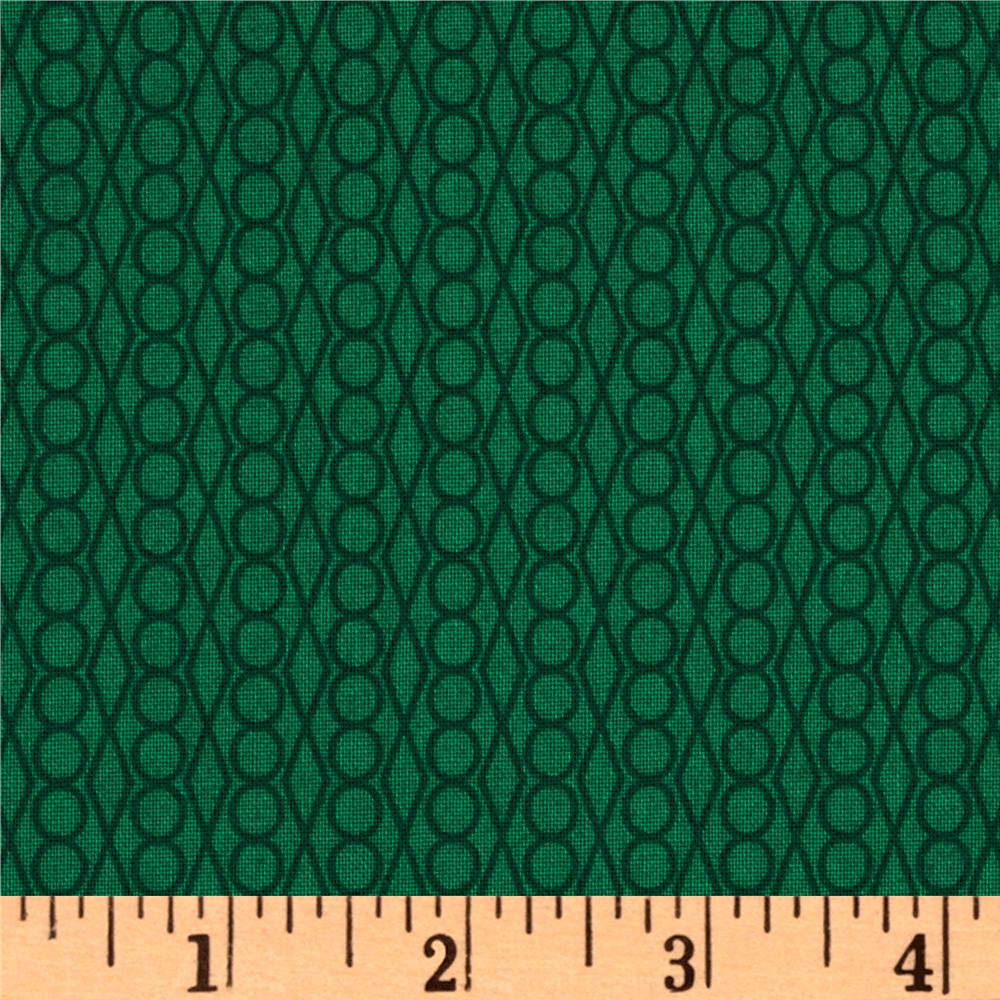 Outfoxed Chain Link Green