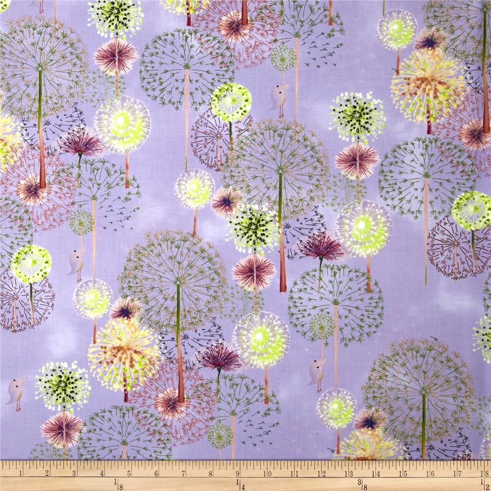 Forest Wonder Floral Purple
