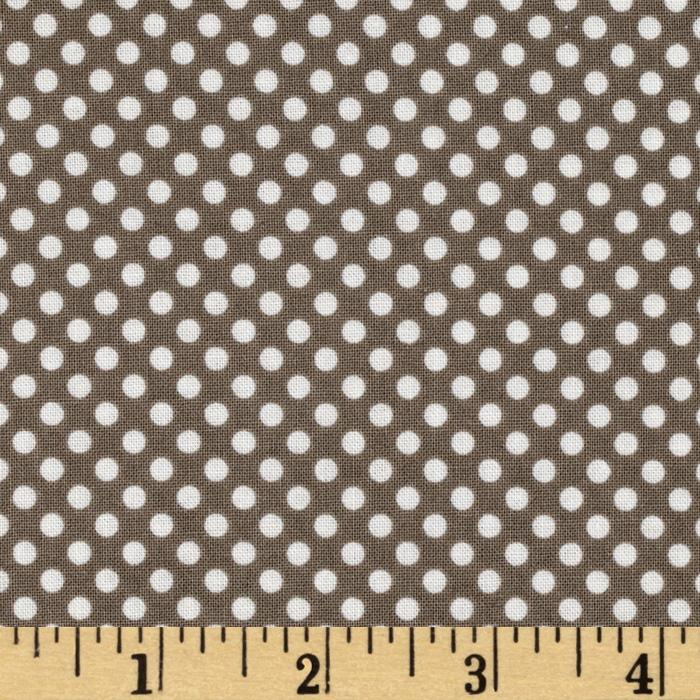 Verona Dots Grey Taupe