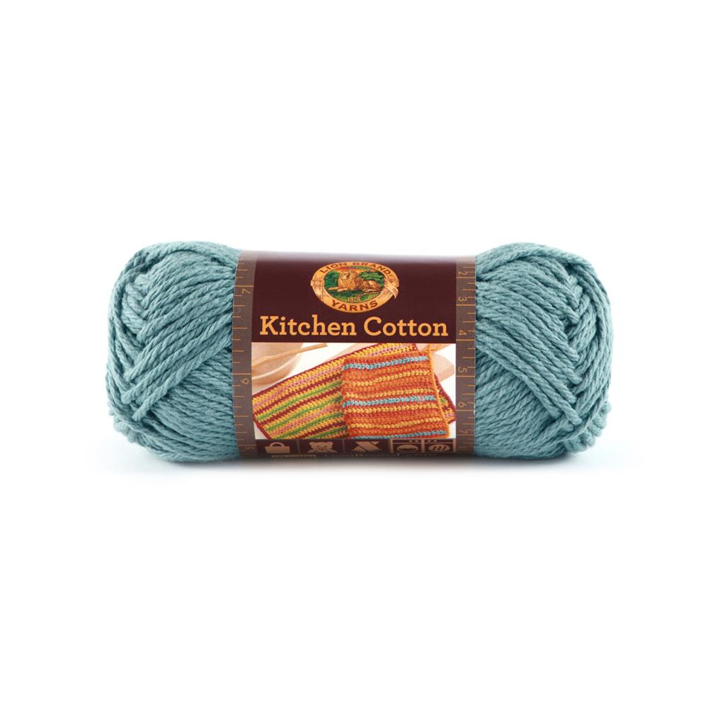 Lion Brand Kitchen Cotton Yarn (108) Blue Ice