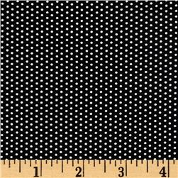 Mangia Mangia Pin Dots Black/White