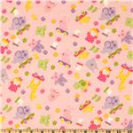 Bitty Baby Flannel Tossed Toys Pink