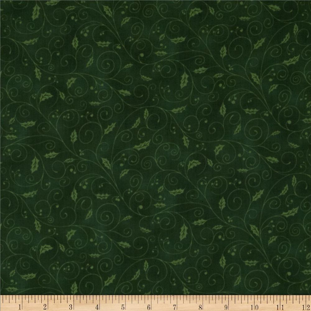 Holiday Accents Classics 2013 Holly Vine Green