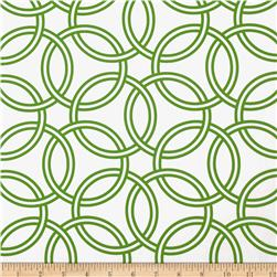 Michael Miller Bekko Home Decor Swirl Turf Green