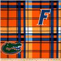 Collegiate Fleece University of Florida Plaid Orange/Blue
