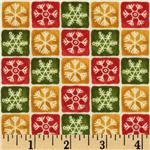 Winter Magic Snowflake Check Multi