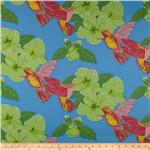 0262297 New Beginnings Hummingbirds&Hibiscus Aqua