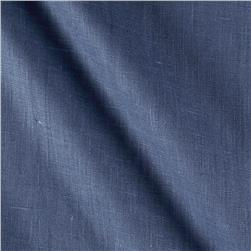 European Linen Pacific Blue