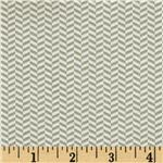 202552 Riley Blake Willow Organic Herringbone Grey/White