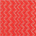 0267299 Copacabana Stretch Crochet Lace Coral