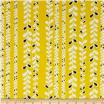 0289449 Taxi Vine Stripe Yellow