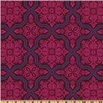 Joel Dewberry Heirloom Tile Flourish Garnet