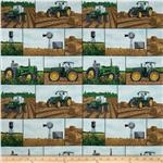 0274521 Tractor Time Tractor Patch Green