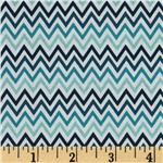 0271794 Riley Blake Indie Chic Zig Zag Blue
