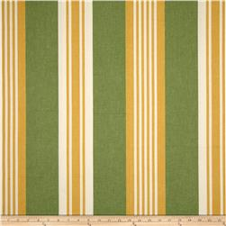 Benartex Home Athena Stripe Yellow/Green