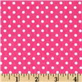 Premier Prints Dottie Candy Pink/White