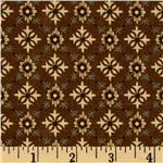 212080 Grandma's House Diamond Medallions Brown