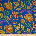 226652 Garden Party Garden Floral Blue