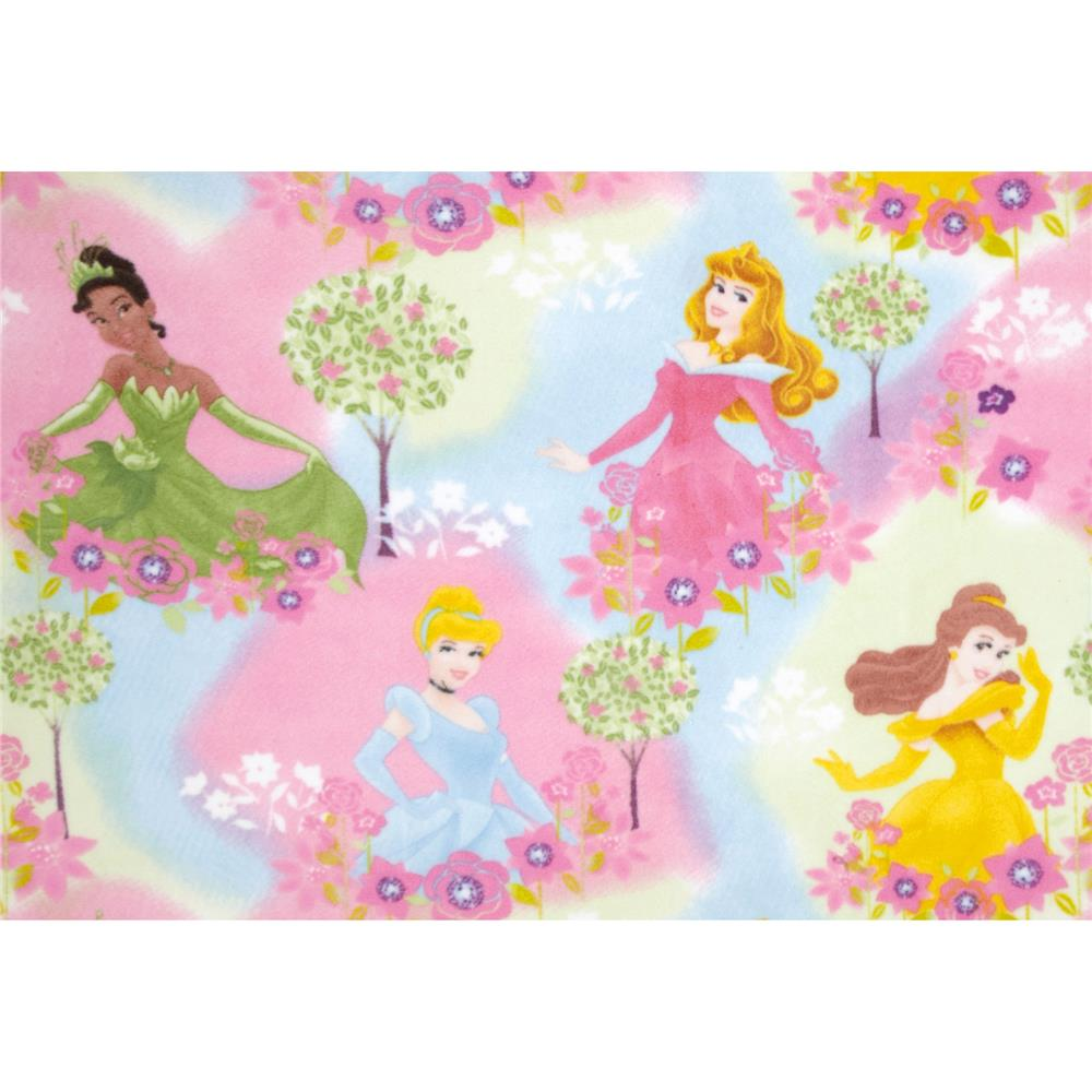 Disney Fleece Princess Pastel Jewels Multi