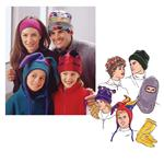 Kwik Sew Hats and Socks  (Adult & Children sizes) Pattern