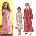 Kwik Sew Girls' Nightgown Pattern