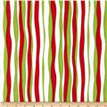 Ho Ho Ho Let It Snow Winter Winds Stripe Red