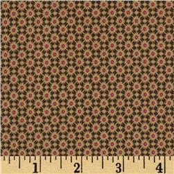 Civil War Miniatures Small Geometric Bursts Olive/Tan/Red