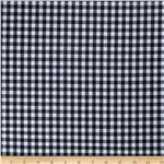 G4R-001 Woven 1/4 Gingham Black