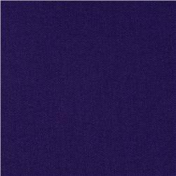 Designer Cotton Twill Suiting Royal Purple