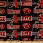 CW-809 MLB Fleece Arizona Diamondbacks Red/Black/Grey