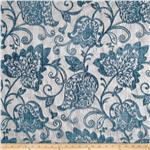 0286065 Benartex Home Renaissance Chenille Jacquard Pumice/Blue