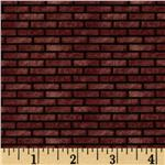 FT-760 All Around The Town Brick Texture Red