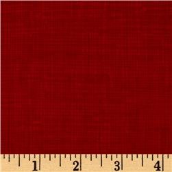 Timeless Treasures Sketch Flannel Ruby