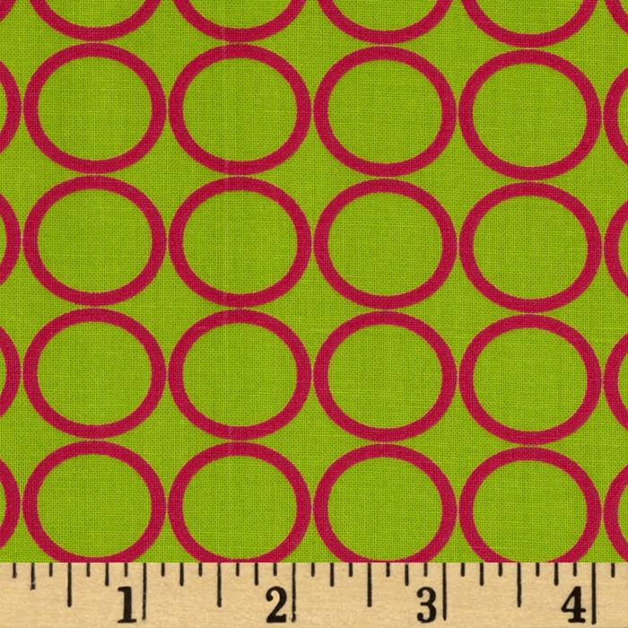 Metro Living Circles Lime