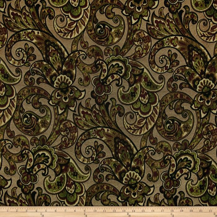 Tempo Grand Paisley Jacquard Onyx