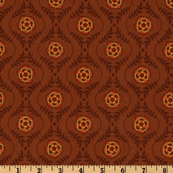 Riley Blake Decadence Damask Brown